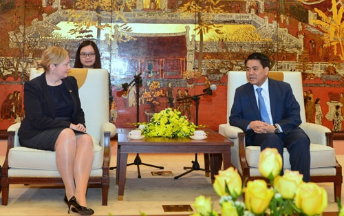 Hanoi hopes to partner with Ireland in education, urban landscaping