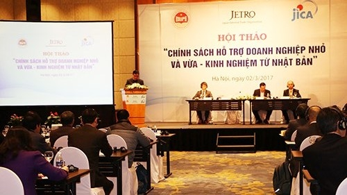Vietnam, Japan shares experience in supporting small and medium-sized enterprises