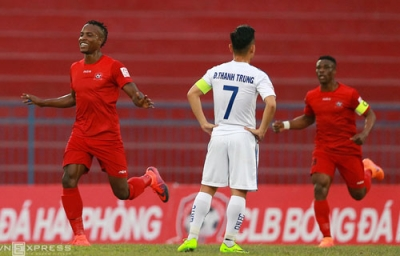 Hai Phong climb to fourth place after home win