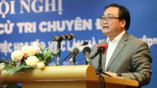 Hanoi Party chief pledges to support student start-up ideas
