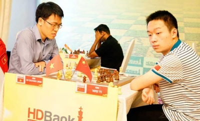 Liem crowned champion at HDBank int'l chess tourney