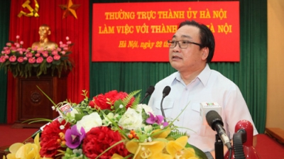 Hanoi Party chief pledges most favourable conditions for youth