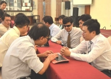 Computing education programme to support the blind