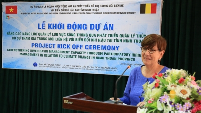 Ninh Thuan kicks off Belgium funded project on water resource management