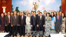 Ho Chi Minh City, Vientiane enhance co-operation and friendship
