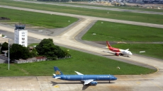 Noi Bai international airport adopts new navigation method