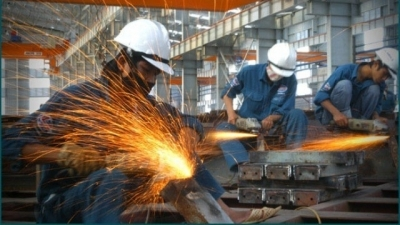 Industrial production index rises 4.1% in first quarter