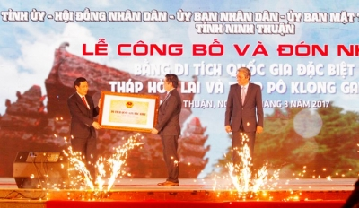 Cham towers in Ninh Thuan recognised as special national relics