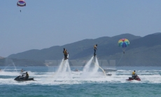 Sea sports complex unveiled in Nha Trang Bay