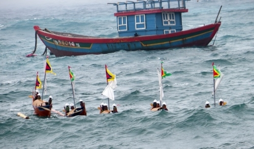 Ritual commemorates soldiers of ancient Hoang Sa Flotilla