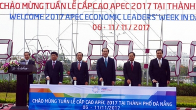 President starts countdown timer for APEC 2017