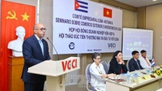 Cuba has plenty of room for Vietnamese businesses: VCCI