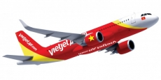 Vietjet airline records positive business results in Q1, 2017