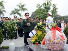 Incense offering commemorates former Defence Minister's birthday