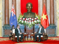 Vietnam ready to welcome further investment from New Zealand: President