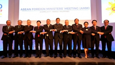 ASEAN foreign ministers concerned about Korean Peninsula situation