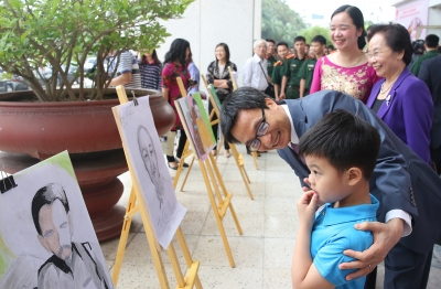 Activities celebrate President Ho's birth anniversary