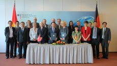Germany supports vocational training and renewable energy