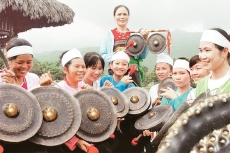 The sound of gongs in Ba Vi district