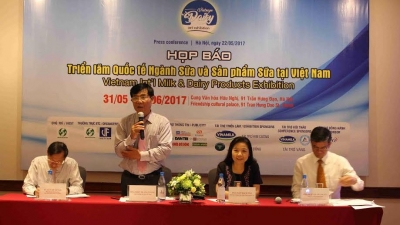 First Vietnam int'l dairy exhibition to be held in late May
