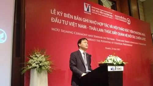 Vietnam and Thailand aim for bilateral trade of US$20 billion by 2020