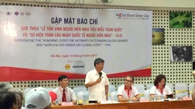 Vietnam hosts World Blood Donor Day for first time