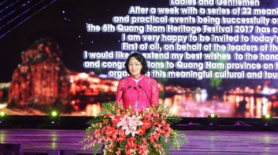 2017 Quang Nam Heritage Festival wraps up in Hoi An