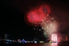 Number of visitors soars 50% during Da Nang firework festival