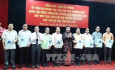 NA Vice Chairwoman welcomes Lao officials to study in Vietnam