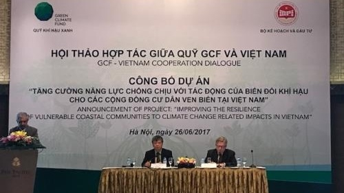 GCF announces project to boost Vietnam's climate resilience