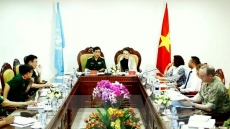 UN team assesses Vietnam's readiness for peacekeeping activities
