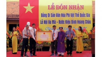 Hai Phong: Local procession ritual recognised as national cultural heritage