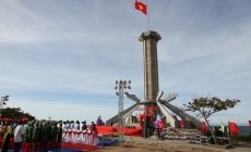National flagpole inaugurated in Con Co island district