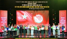 Outstanding national contributors in Hanoi honoured