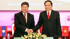 Vietnam, Laos enhance cooperation in building border areas