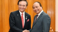 PM receives Governor of Japan's Kanagawa Prefecture