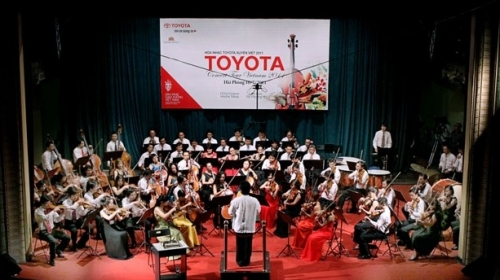 Toyota Concert takes to the stage in Vinh Phuc