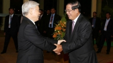 Part leader continues activities within state visit to Cambodia