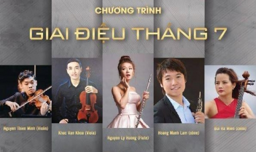 "July 24 – 30: Concert ""Tone of July"" in Hanoi"