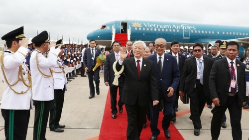 July 17-13: Party General Secretary pays State visit to Cambodia