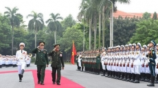 Lao senior military officer visits Vietnam to boost defence partnership