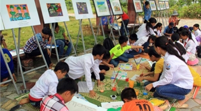 Culture-Tourism Village delights children with various activities in August