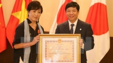 Vietnam's Friendship Order presented to Japanese film director