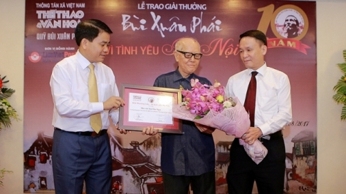 Hanoi authorities appreciate contributions to capital's development