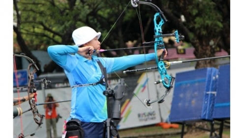 Female archer brings home first medal for Vietnam at 2017 SEA Games