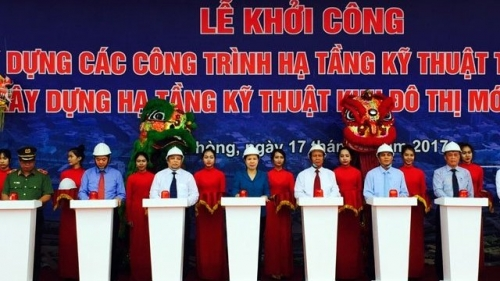 Hai Phong constructs infrastructure of new urban area
