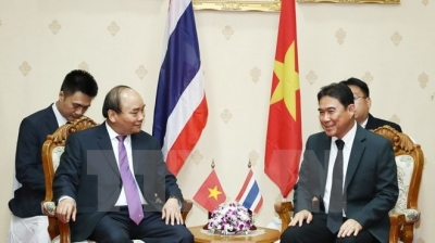 Vietnamese PM works with Governor of Nakhon Pathom