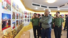 Exhibition features Vietnam-Laos-Cambodia cooperation in crime combat