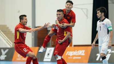 Futsal team suffers first loss to Thailand at SEA Games 29