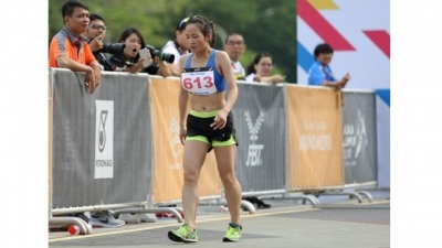 Vietnam's athletes begin SEA Games campaign with marathon silver medal